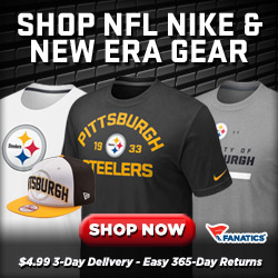 Steelers Fan Shop Button